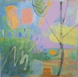 New Shoots by Sarah Warley-Cummings, Painting, Oil on Board